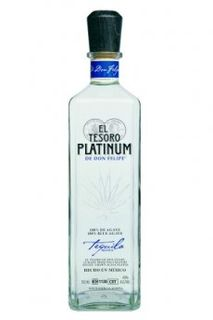 el_tesoro_de_don_felipe_platinum_tequila_bottle