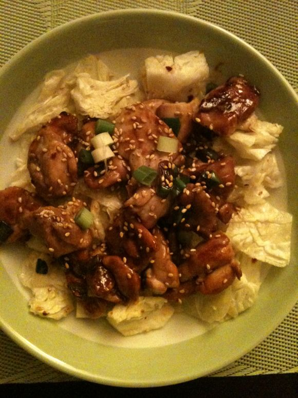 What's for Dinner: Dakgogi Bokkum (Korean chicken with fresh cabbage)
