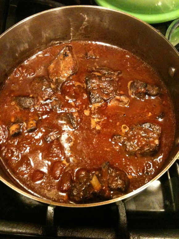 goat, lamb, goat stew, lamb stew, Corsican Goat Ragout (cabri en ragout)