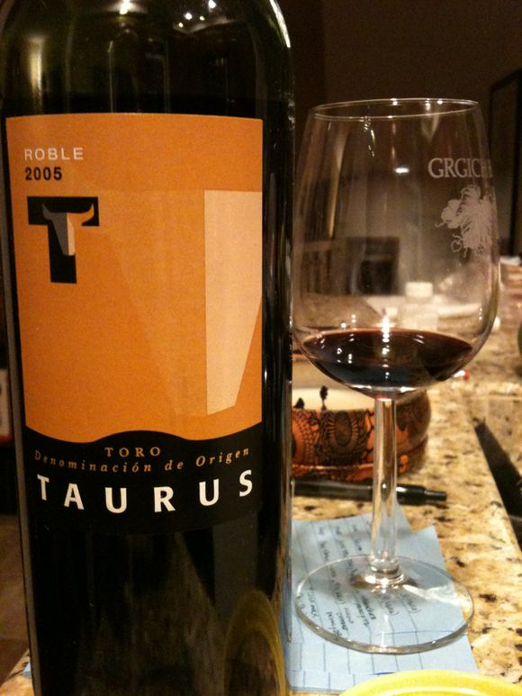 red wine, spanish wine, 2005 toro