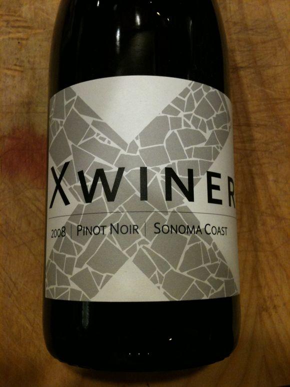 Pinot noir, pinot noir bottle, 2008 x winery pinot noir, sonoma coast pinot noir