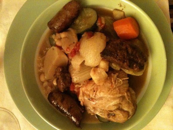Couscous, couscous Royale, Merguez, lamb sausage