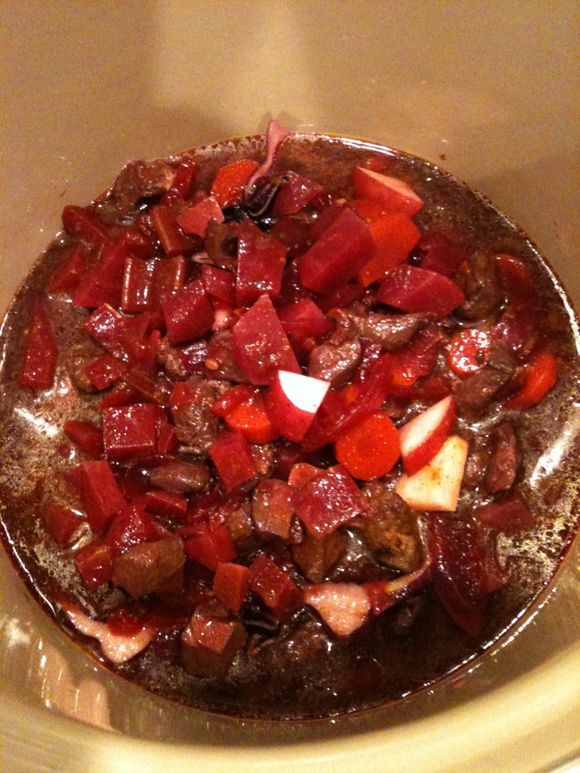 What's for Dinner: Wild Boar Borscht